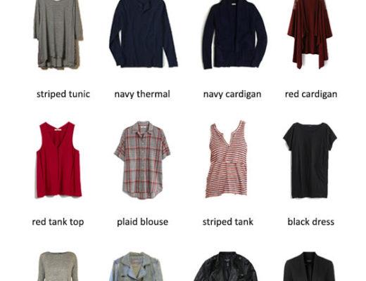 Karin Rambo of truncationblog.com shares her Fall 2015 Capsule Wardrobe