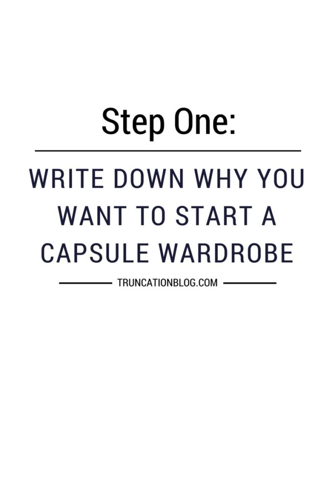 Karin Rambo of truncationblog.com shares how to build a capsule wardrobe