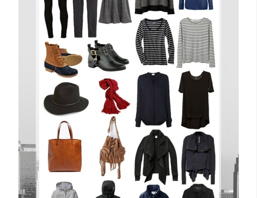 A Month Long European Packing Guide