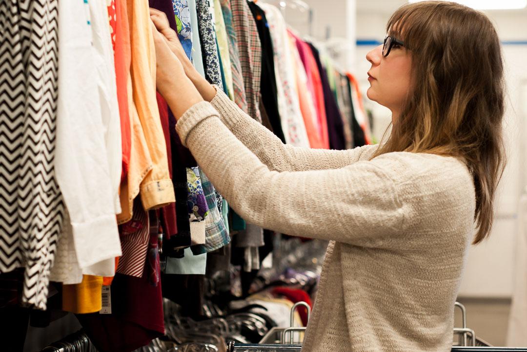 Karin Rambo of truncationblog.com shares her 4 Simple Thrift Shopping Tips for Your Capsule Wardrobe