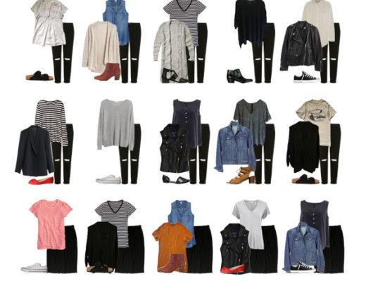 Karin Rambo of truncationblog.com shares her spring 2016 capsule wardrobe recap