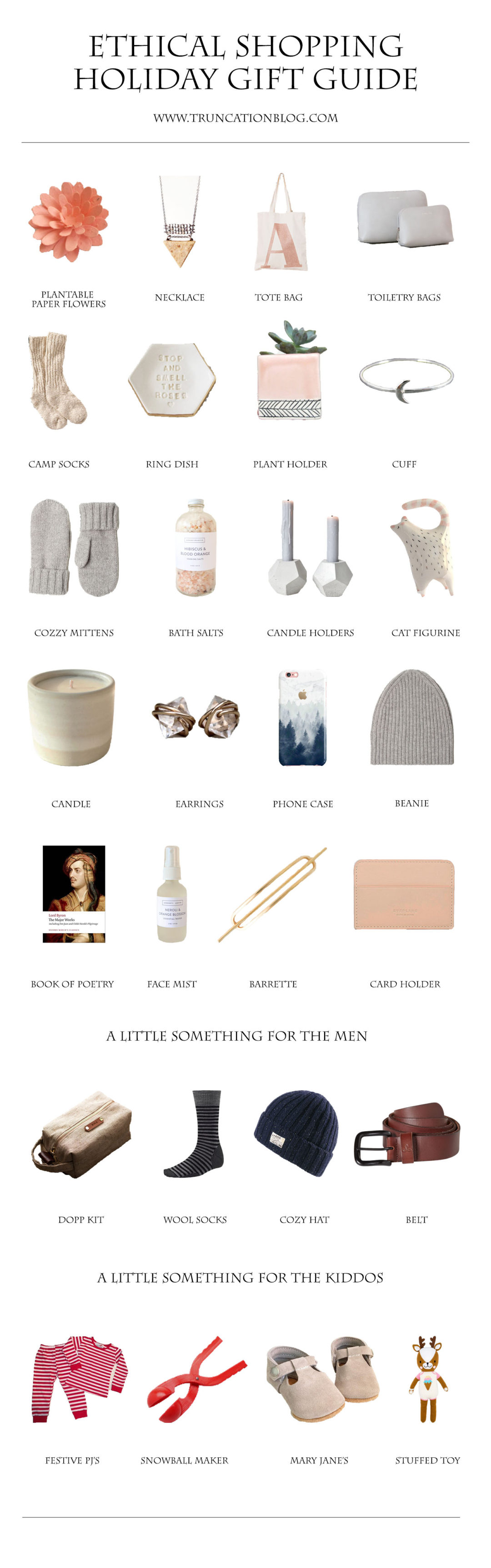 Ethical Shopping Holiday Gift Guide