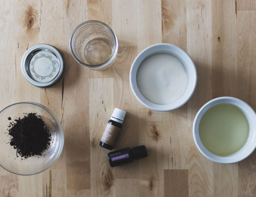Karin Rambo of truncationblog.com shares a DIY Firming Sugar Scrub