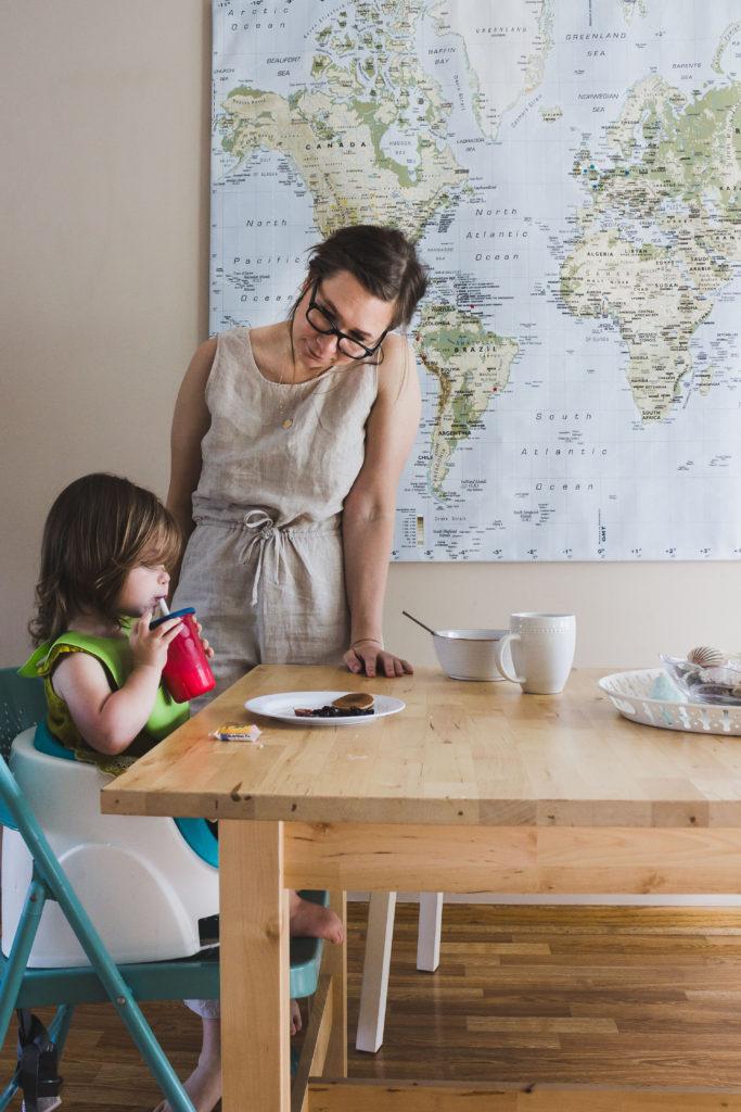 Karin Rambo of truncationblog.com shares her tips on styling a jumpsuit postpartum