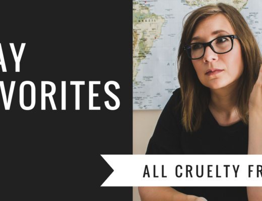 Karin Rambo of truncationblog.com shares her May Favorites: Baby, Beauty, and Cruelty Free