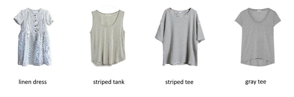Karin Rambo of truncationblog.com shares her 2017 Summer Capsule Wardrobe 1