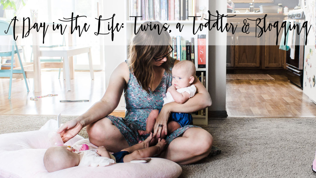 A Day In The Life Twins Toddler And Blogging
