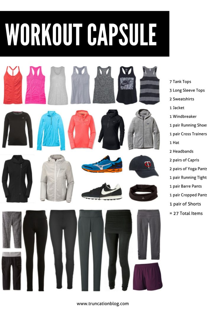 Fall 2015 Workout Capsule Wardrobe