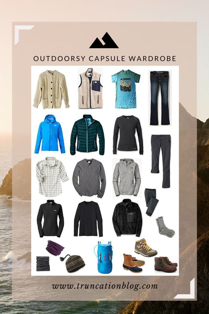 Fall 2015 Outdoorsy Capsule Wardrobe