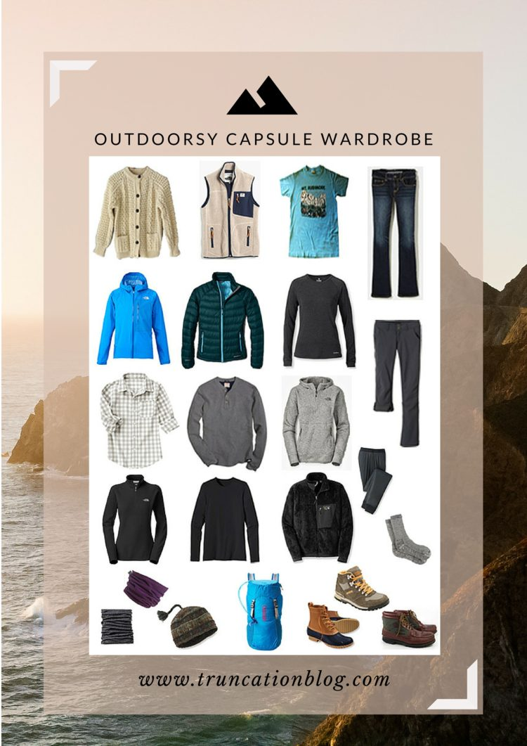 2015 Outdoorsy Capsule Wardrobe