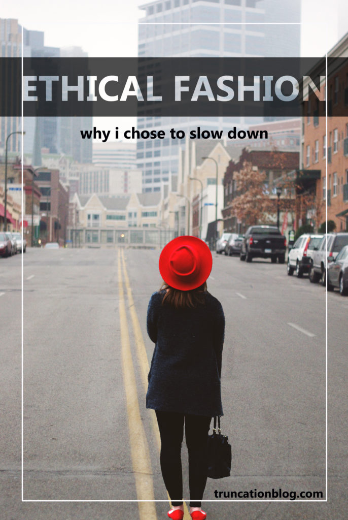 Karin Rambo of truncationblog.com talks about her choice to pursue ethical fashion