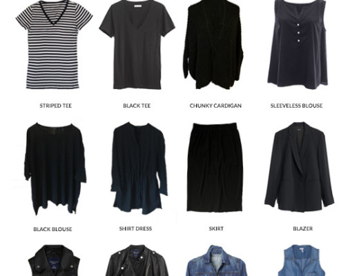 Karin Rambo of truncationblog.com shares her 2016 Capsule Wardrobe