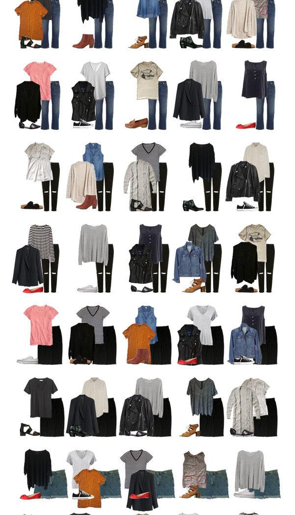 Spring 2016 Capsule Wardrobe Recap