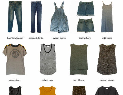 Karin Rambo of truncationblog.com shares her summer 2016 capsule wardrobe