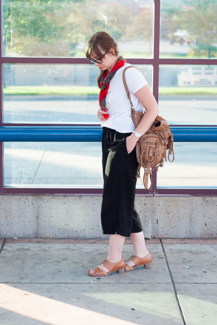 Karin Rambo of truncationblog.com shares a summer capsule outfit with easy seperates