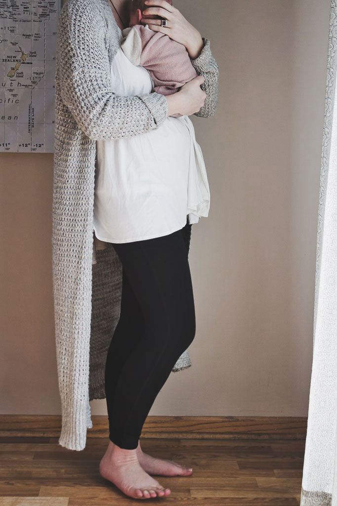 Postpartum Fashion and Ethically Made Leggings