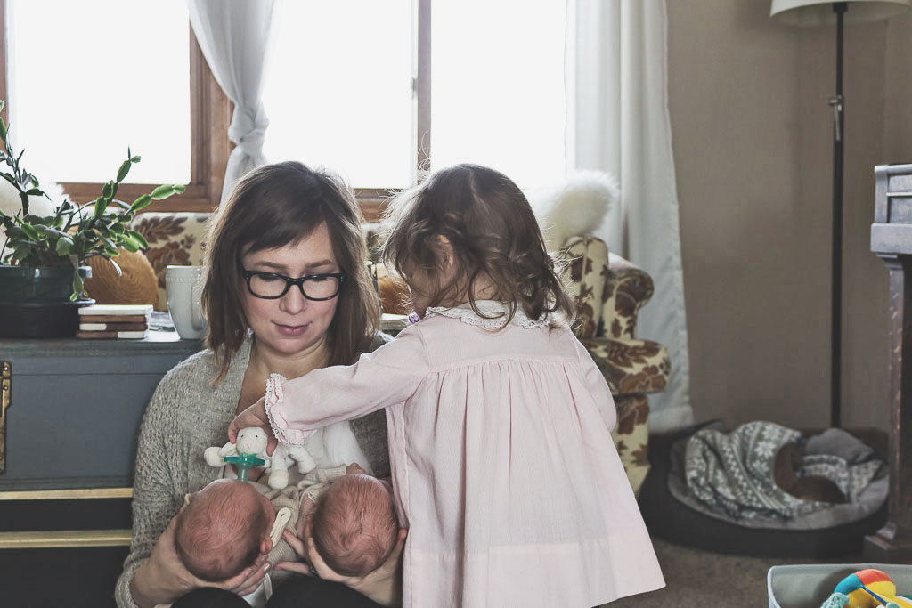Karin Rambo of truncationblog.com shares her postpartum fashion and where to find ethically made leggings