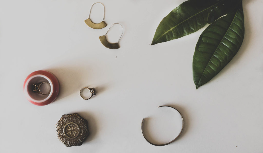 Karin Rambo of truncationblog.com shares her small purposeful jewelry collection