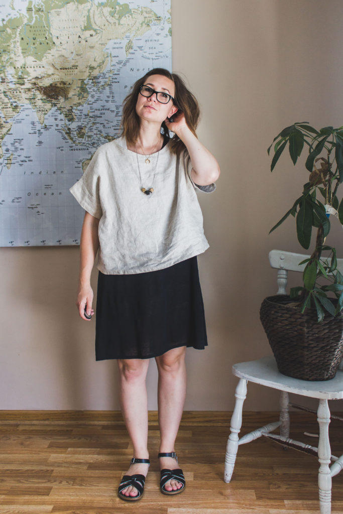 Mama Style: the Georgia Tee Crop Top from Elizabeth Suzann