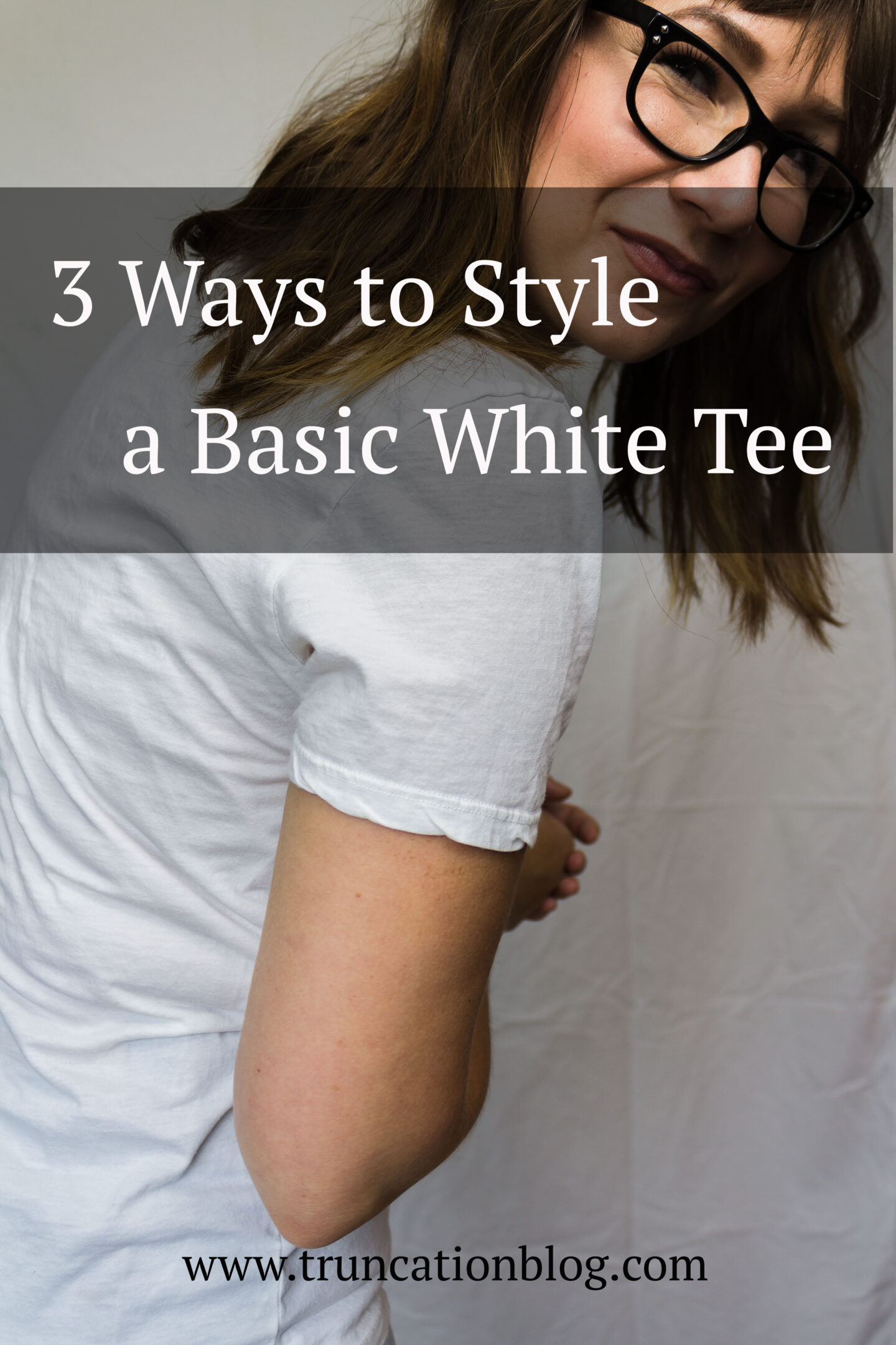 3 Ways to Style a Basic White Tee: featuring Everlane