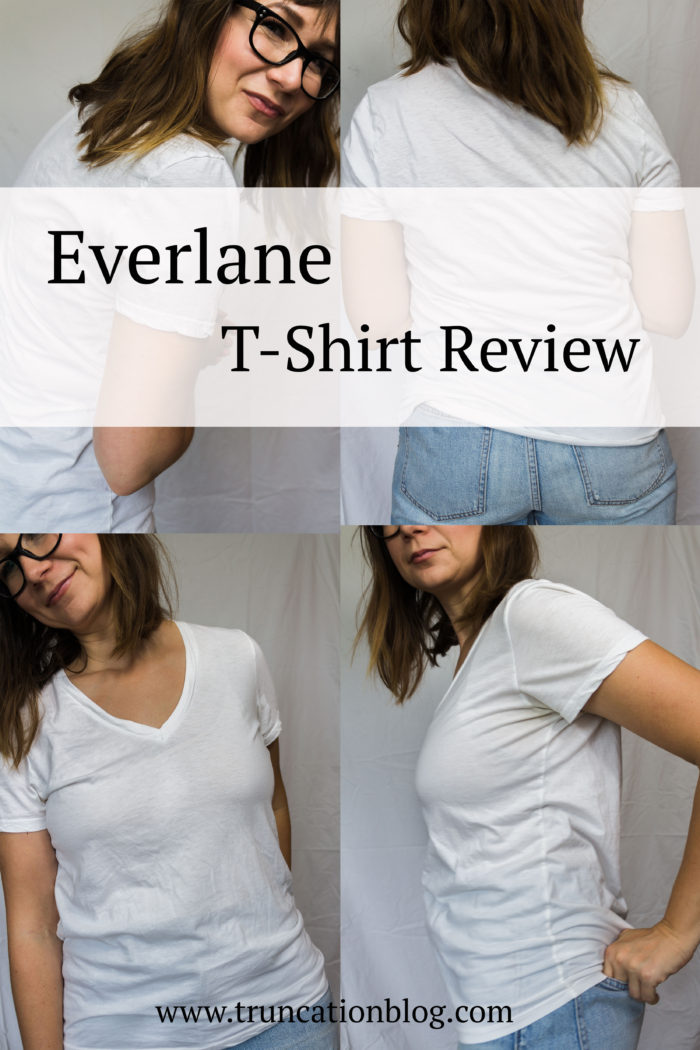 Everlane Cotton V vs. the Pima Micro Rib Crew Tee