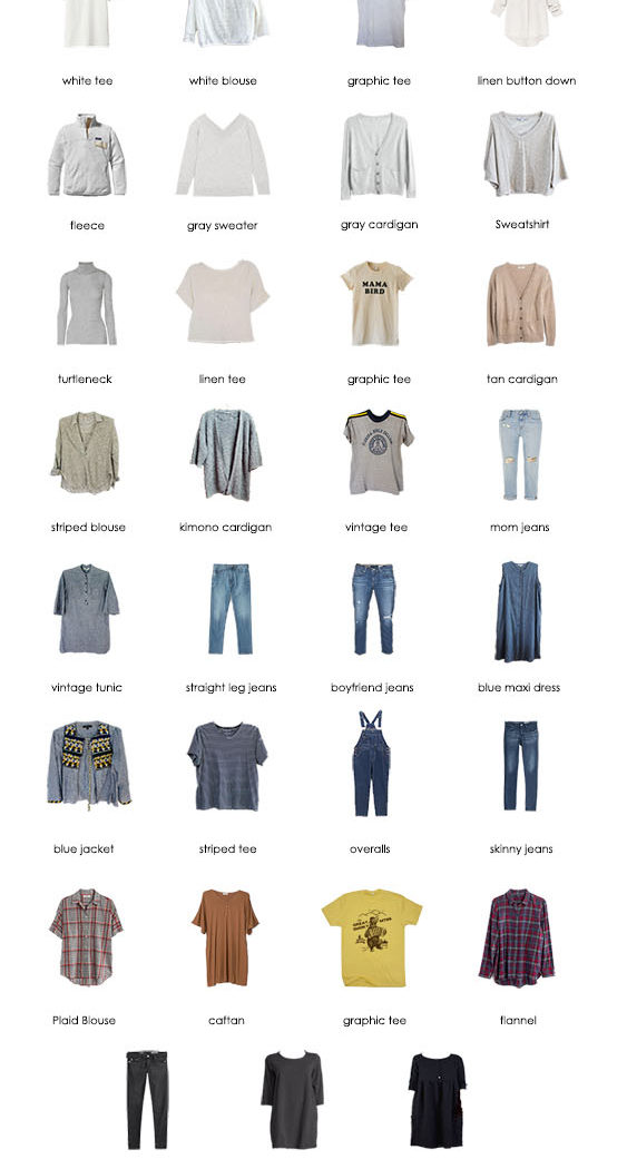 Fall 2017 Capsule Wardrobe