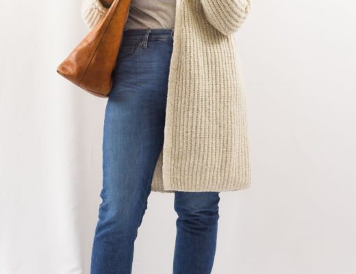 Winter '18 Capsule Outfit No. 13: The Perfect Cardigan