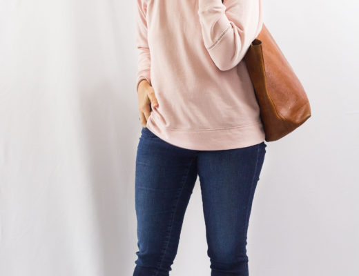 Blush Pink and Cognac-1