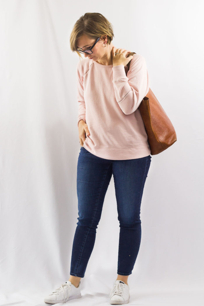Winter Capsule Outfit No. 39: Blush Pink and Cognac