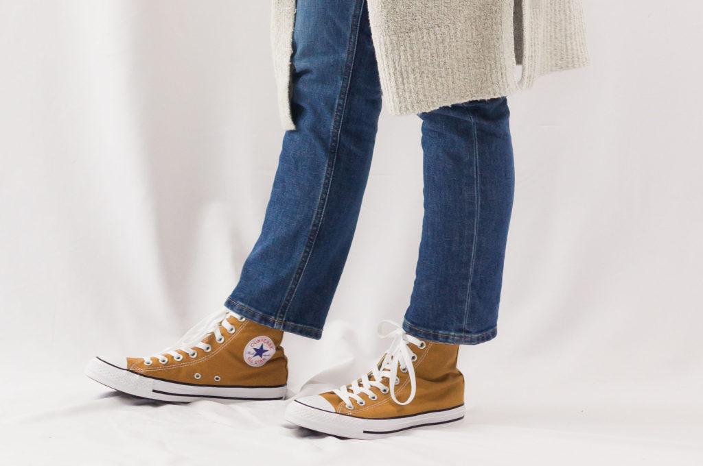 Winter '18 Capsule Outfit No. 8 Boyfriend Jeans & Yellow Converse ... Winter '18 Capsule Outfit No. 8 Boyfriend Jeans & Yellow Converse ... Yellow Things yellow converse