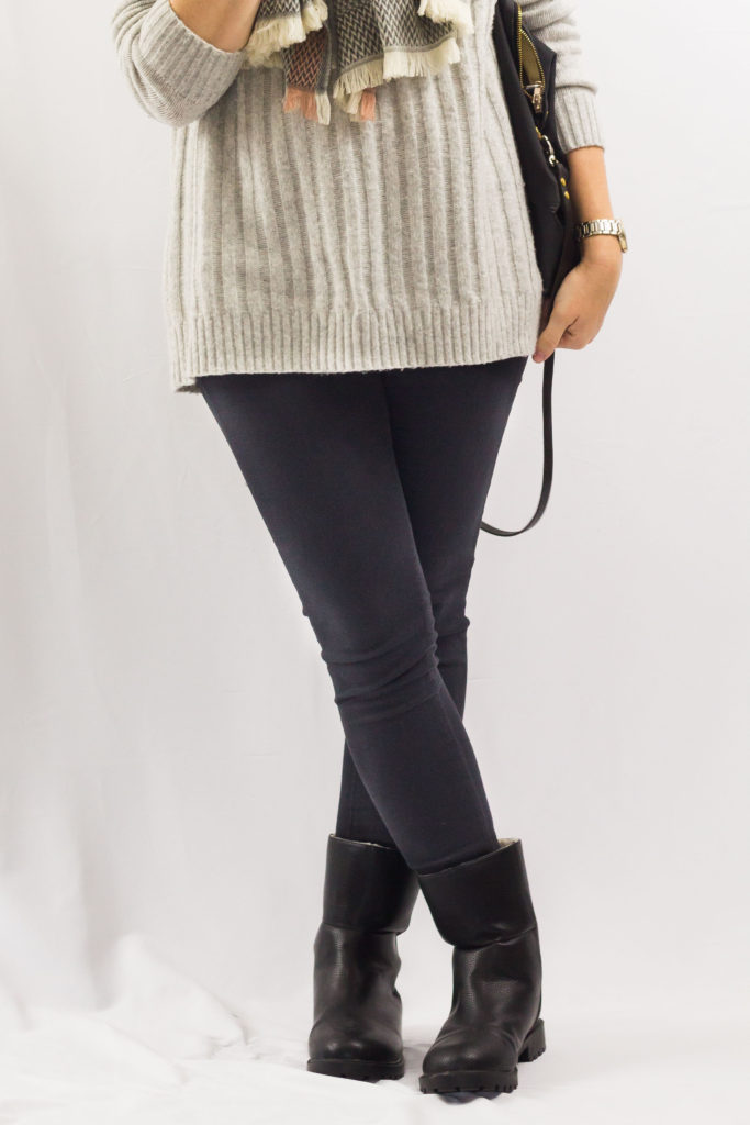 Chunky Sweater and Moto Boots-3