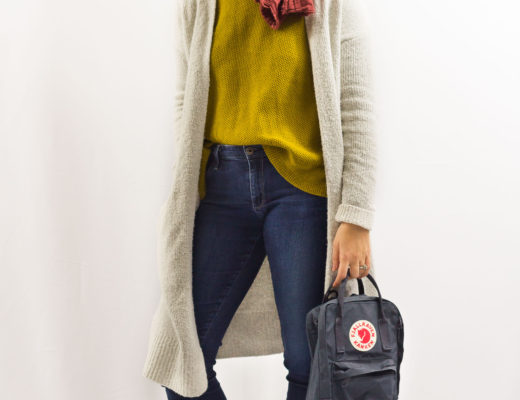 Layering a Sweater under a Cardigan-1