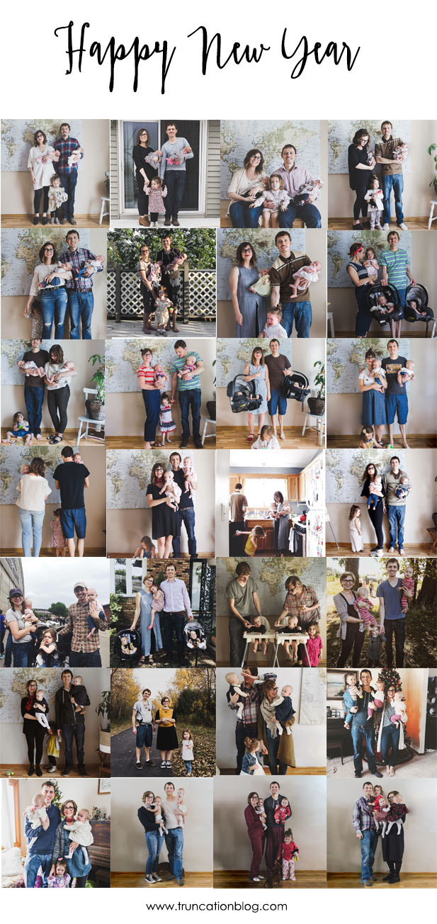Our Year in Family Photos & My Word of the Year