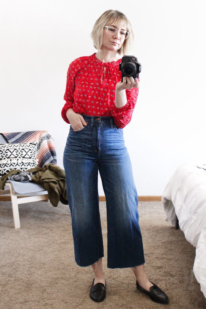 What I Actually Wore: Daily Outfits for the Week of 3/12/18