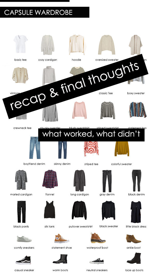 Winter 2018 Capsule Wardrobe Recap: Final Thoughts