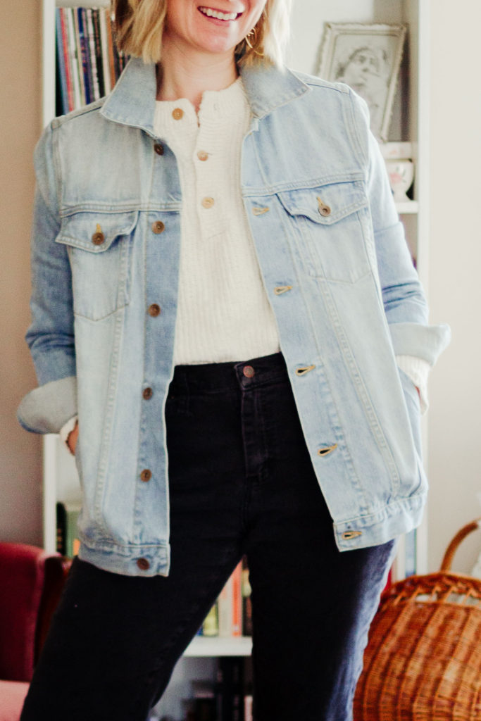 Spring 10x10 Check In + Tradland Denim Jacket Review