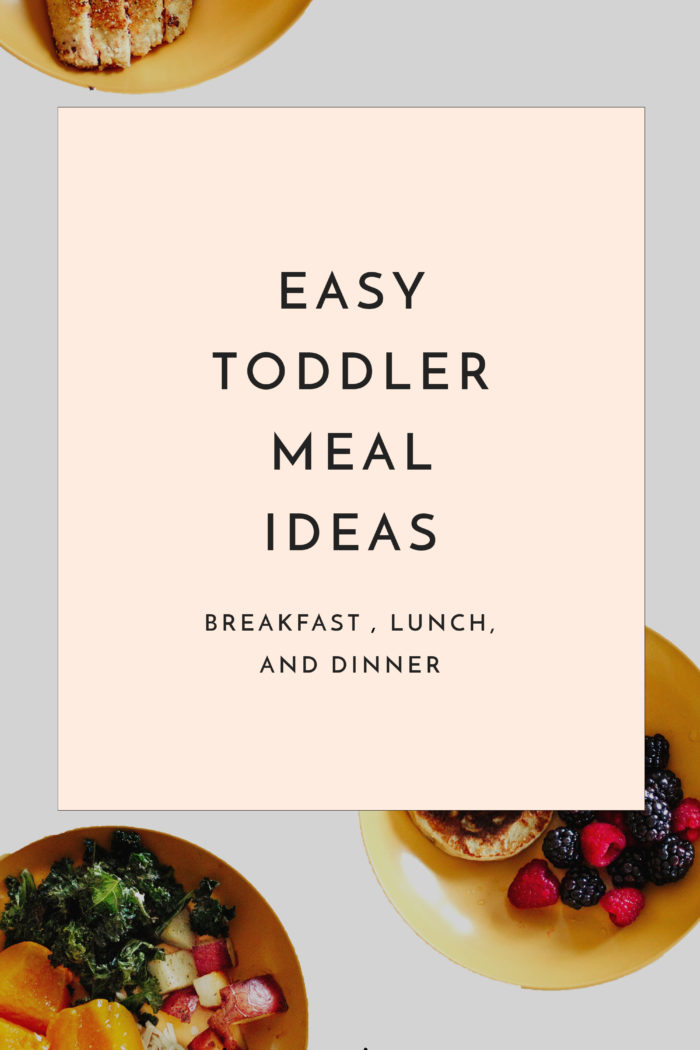 Easy Toddler Meal Ideas: What my Girls Eat in a Week