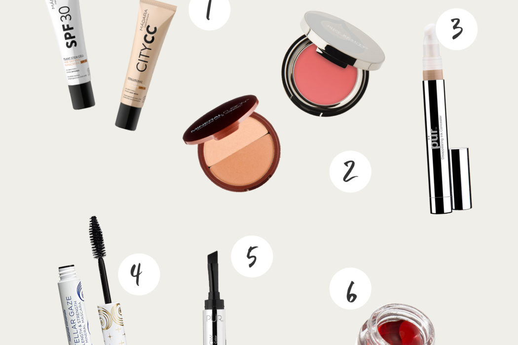 What's in my Makeup Bag: Minimal, Organic, and Cruelty Free