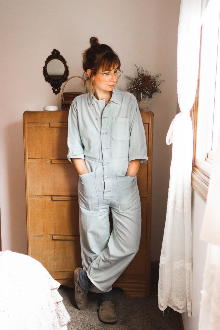 A Week of Real Outfits feat. the Boiler Suit Jumpsuit