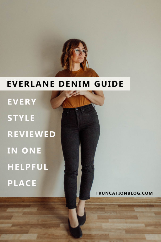Everlane Denim Guide, Everlane Denim Review