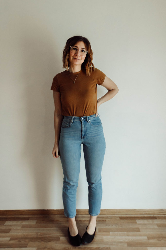 Everlane Denim Guide, Everlane Denim Review, Light Wash Jeans, Cheeky Jeans, Straight Leg Jeans, High Waisted Jeans