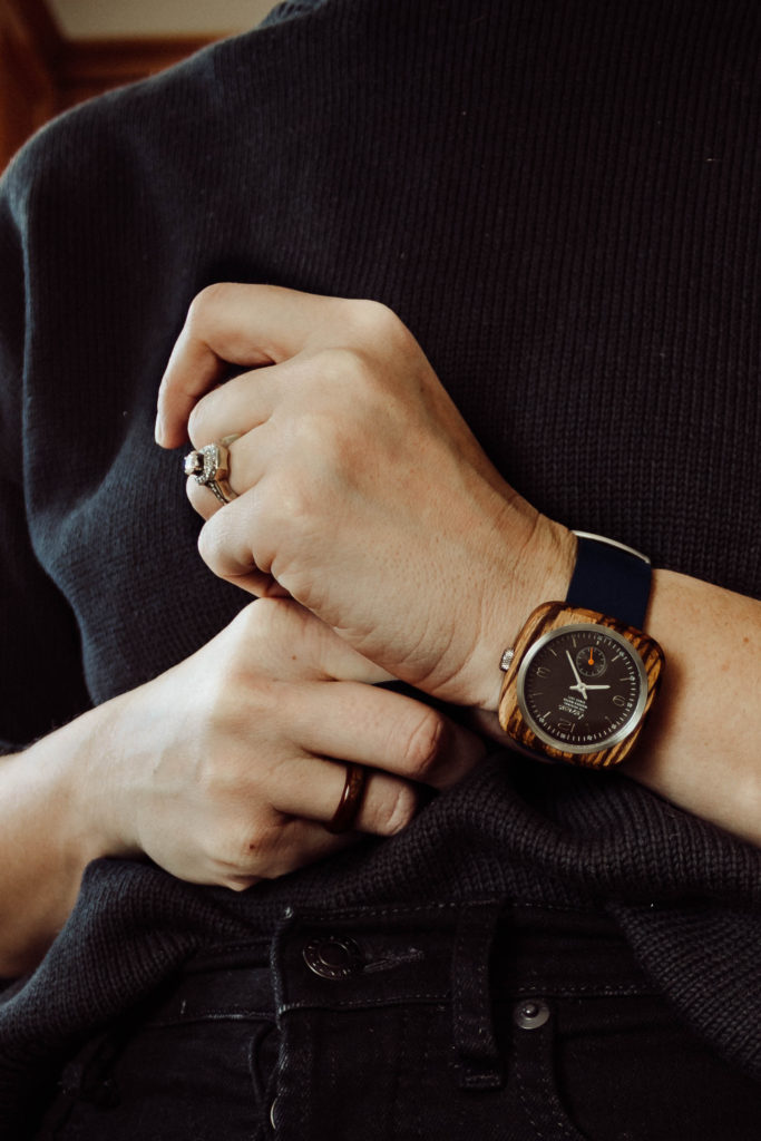 Holiday Gift Ideas Featuring Wood Watches with Tense