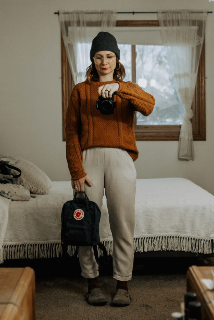 What I Wore Last Week: Featuring the Fisherman Sweater