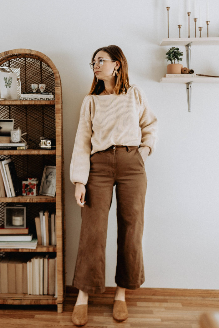 A Week of Outfits + Pared Down Beauty Routines, Easy Breakfast ideas, and more.