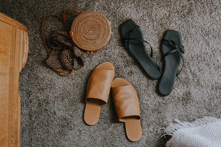 Everlane Sandal Comparison: the Day Sandal Vs. the Strappy Sandal
