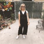 30 Days of Summer Style Day 6: jumpsuit over a t-shirt