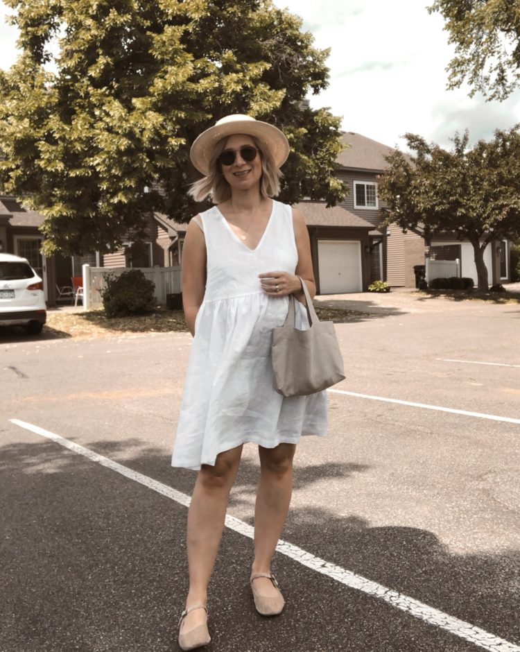 30 Days of Summer Style Day 10: Little White Dress