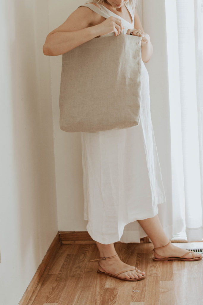 30 Days of Summer Style Day 3: Linen Bags from Shin+Na