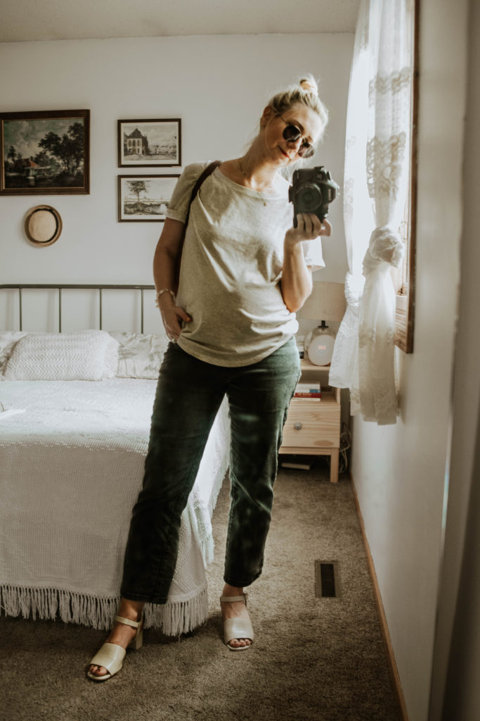 30 Days of Summer Style Day 16: Maternity Outfit