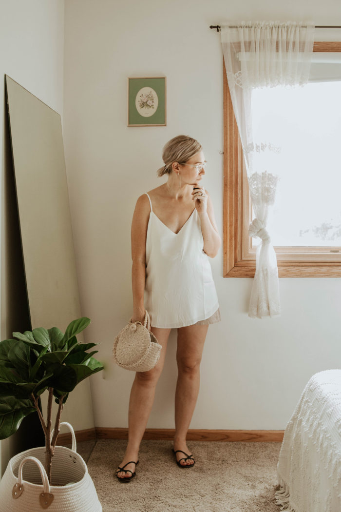 30 Days of Summer Style Day 21: Little White Cami